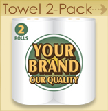 Paper Towel - 2 pack