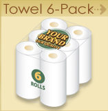 Paper Towel - 6 pack
