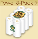 Paper Towel - 8 pack